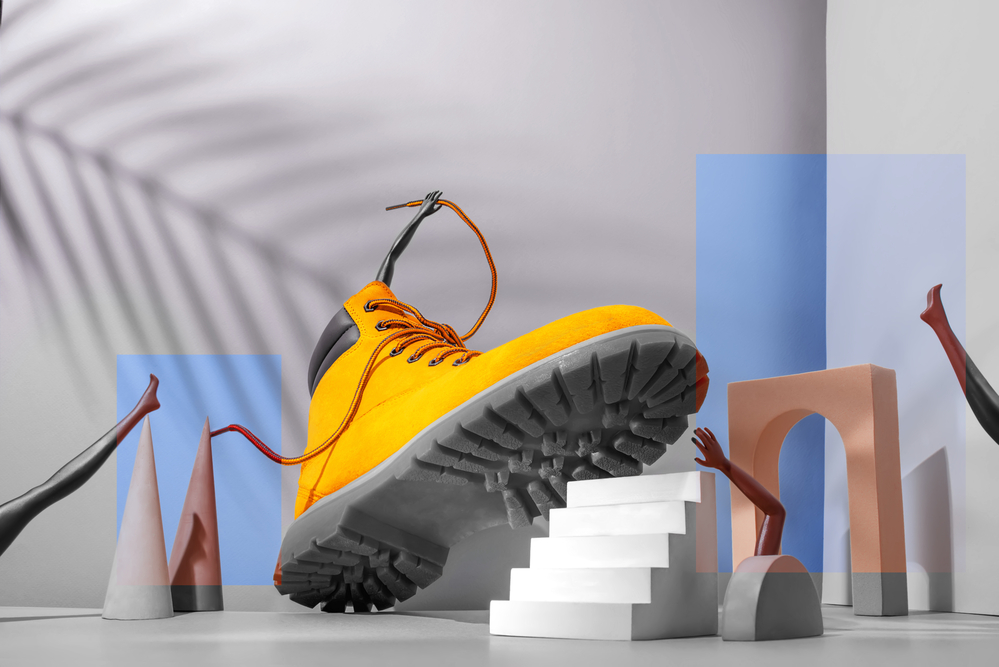 stock photo still-life shoe