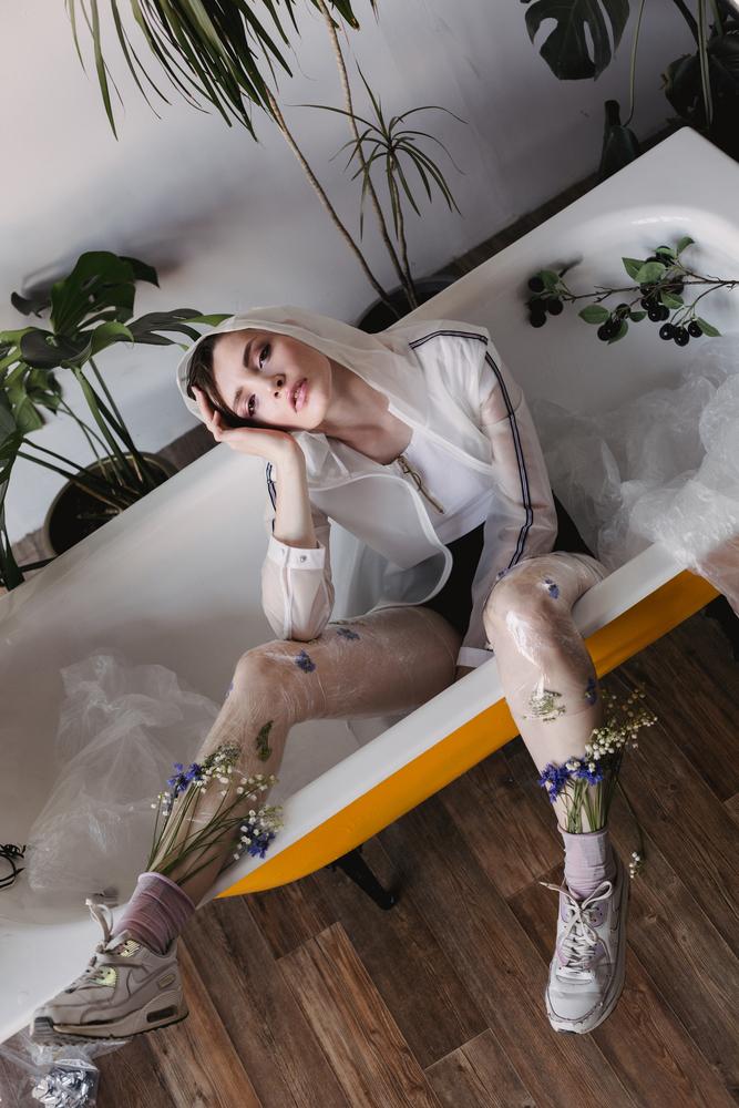 stock photo fashion model woman
