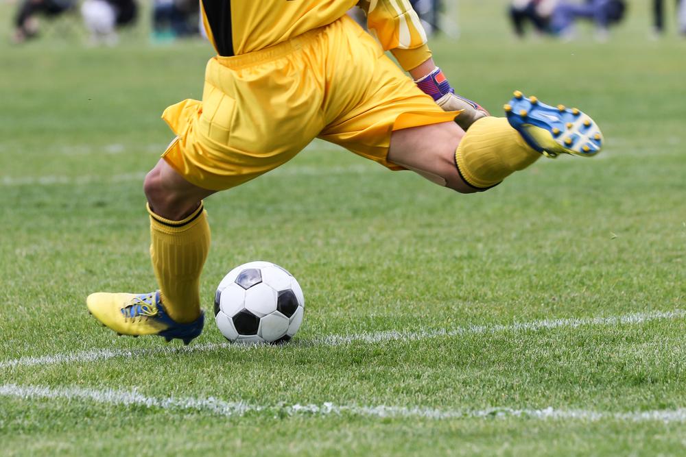 stock photo sport Football (Soccer) player
