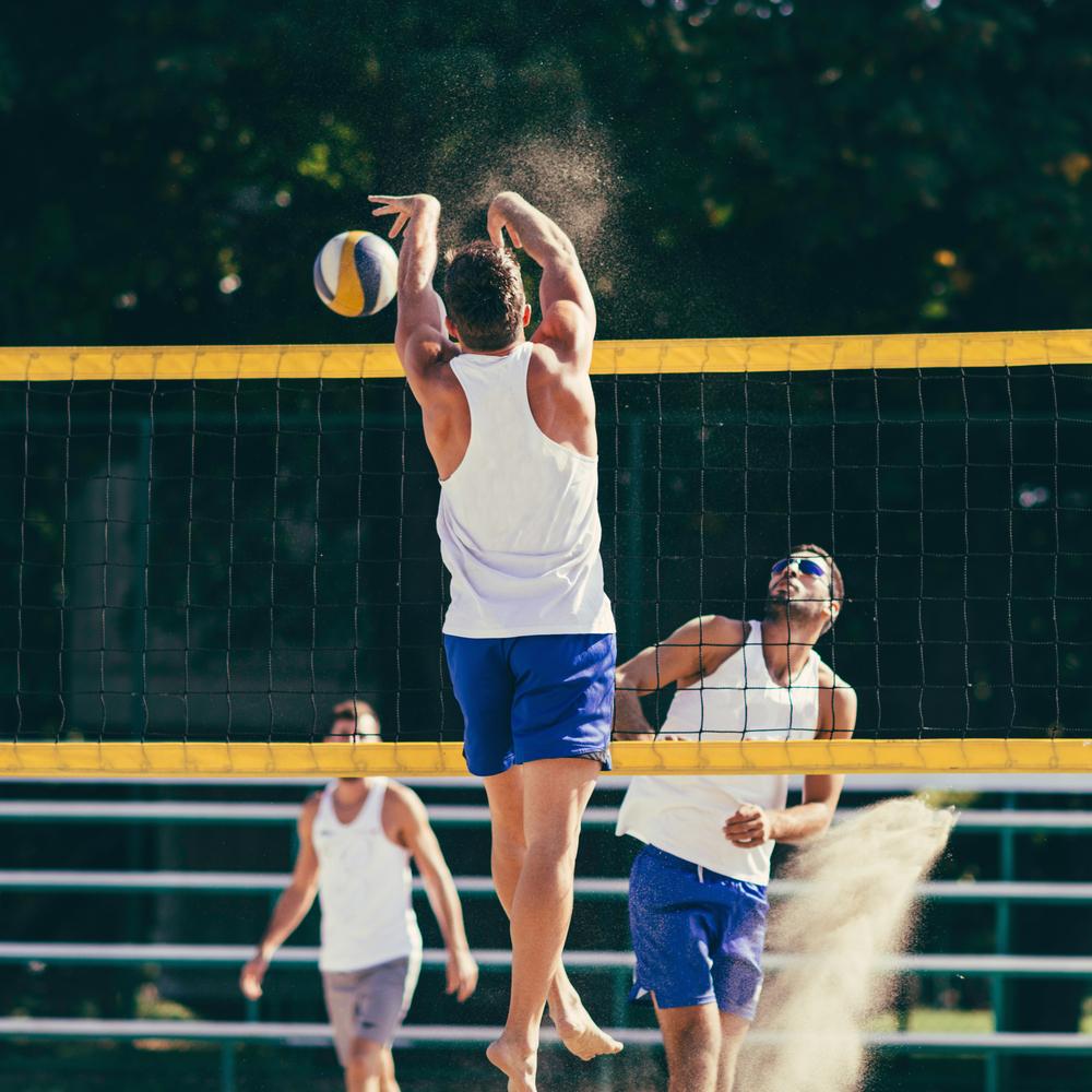 stock photo sport beach Volleyball