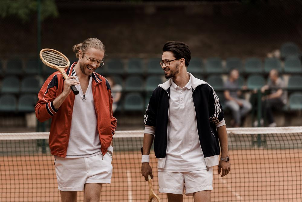 stock photo sport Tennis friends game