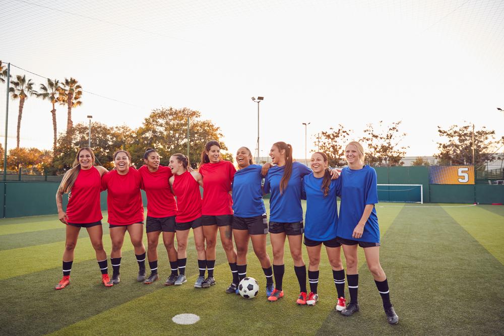 stock photo sport Football Soccer women