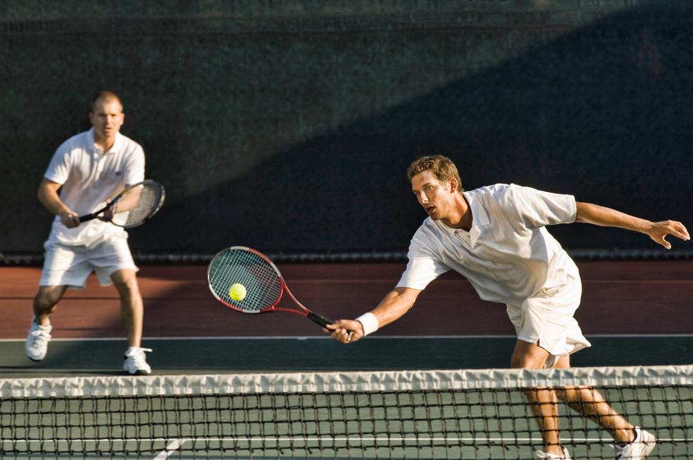 stock photo sport Tennis ball player