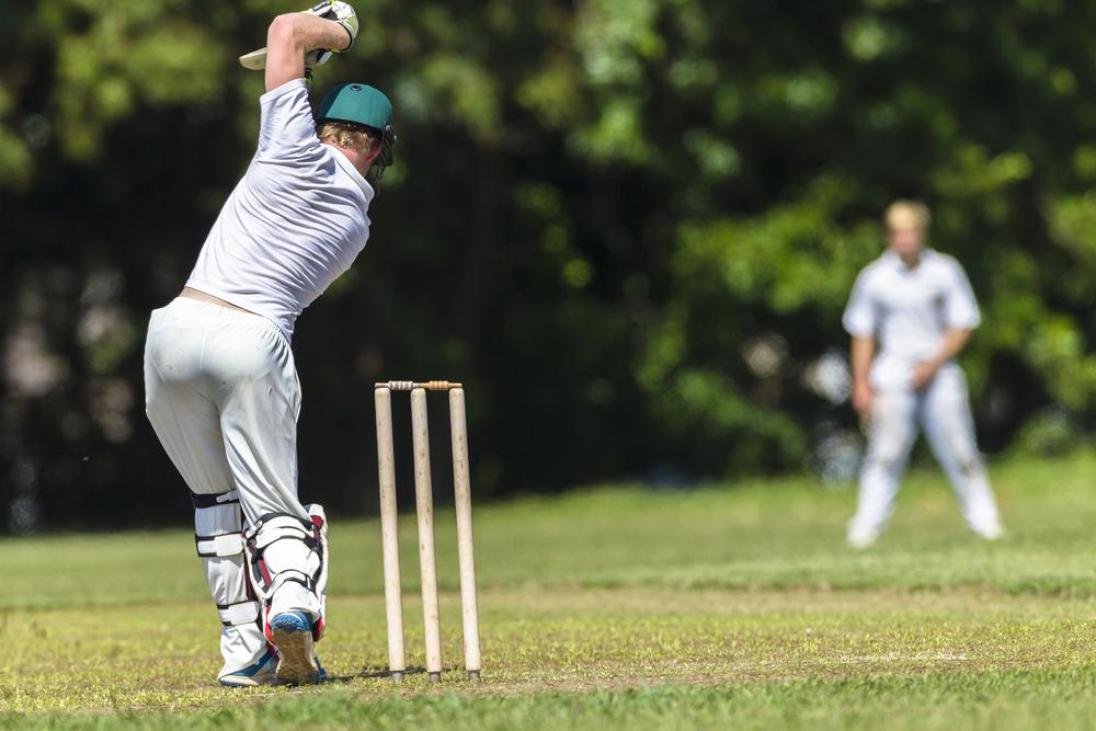 stock photo sport Cricket