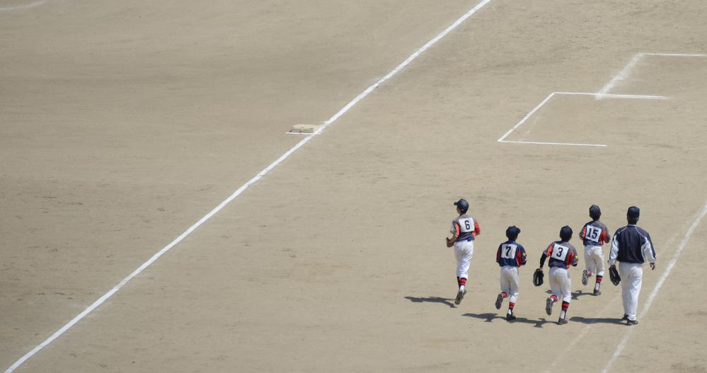 stock photo sport Baseball field