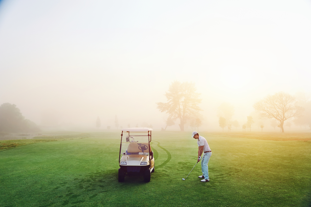 stock photo sport golf