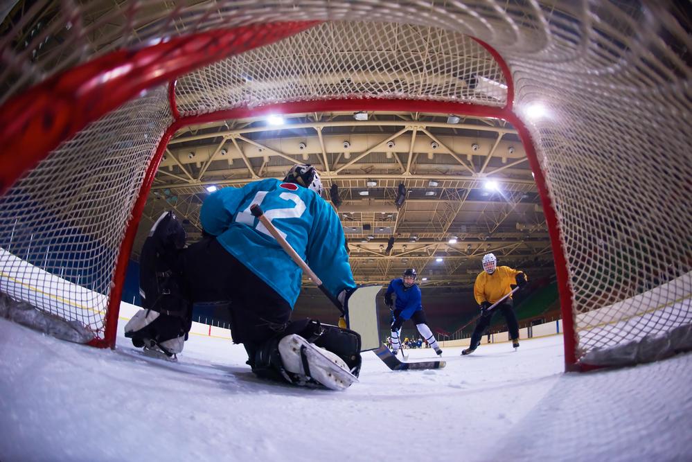 stock photo sport Hockey ice team