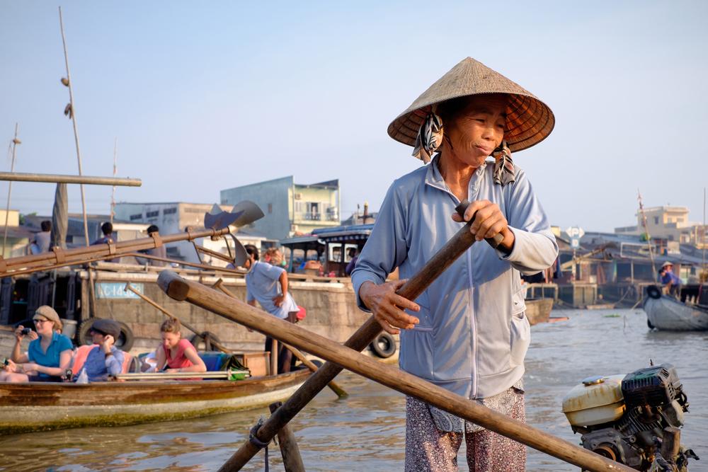 stock photo Vietnam travel images Vietnamese people
