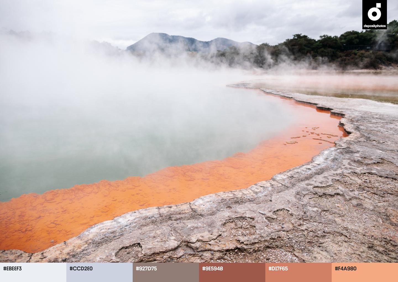 nature summer color palettes
