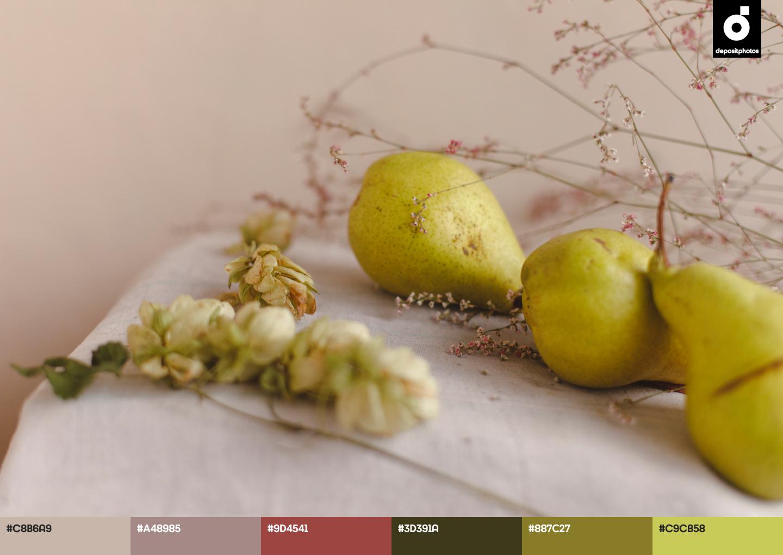 fruit summer color palettes