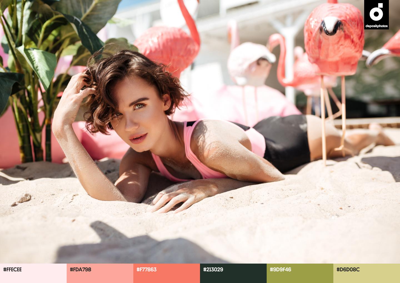 popular summer color palettes