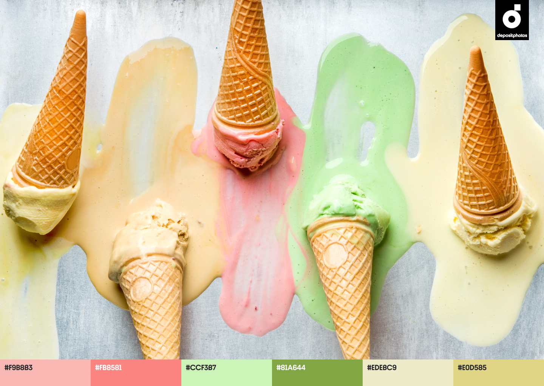 bright summer color palettes
