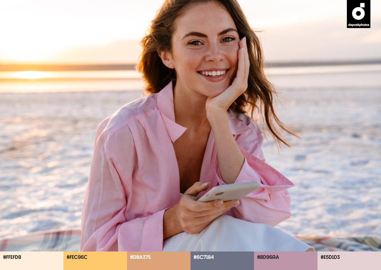 authentic summer color palettes