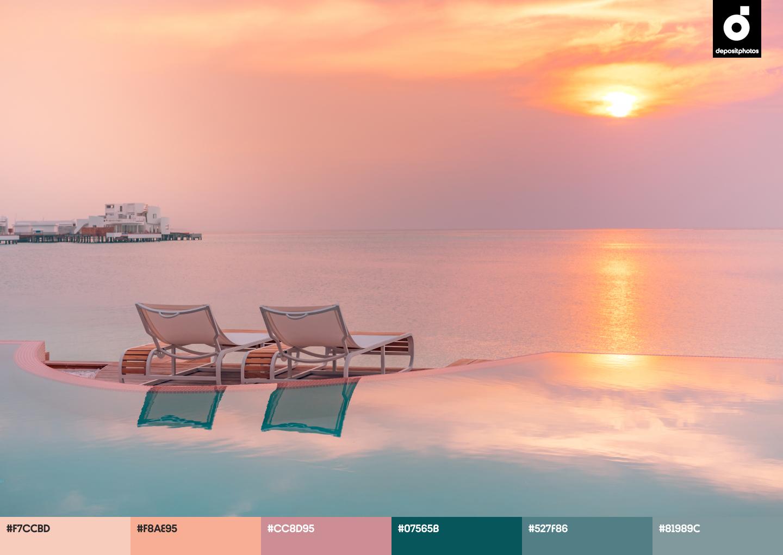 ambient summer color palettes