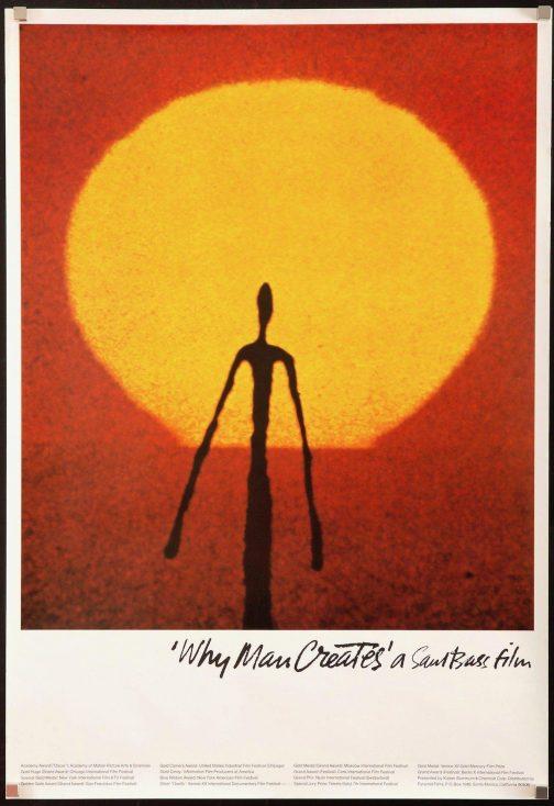 Why man creates movie poster