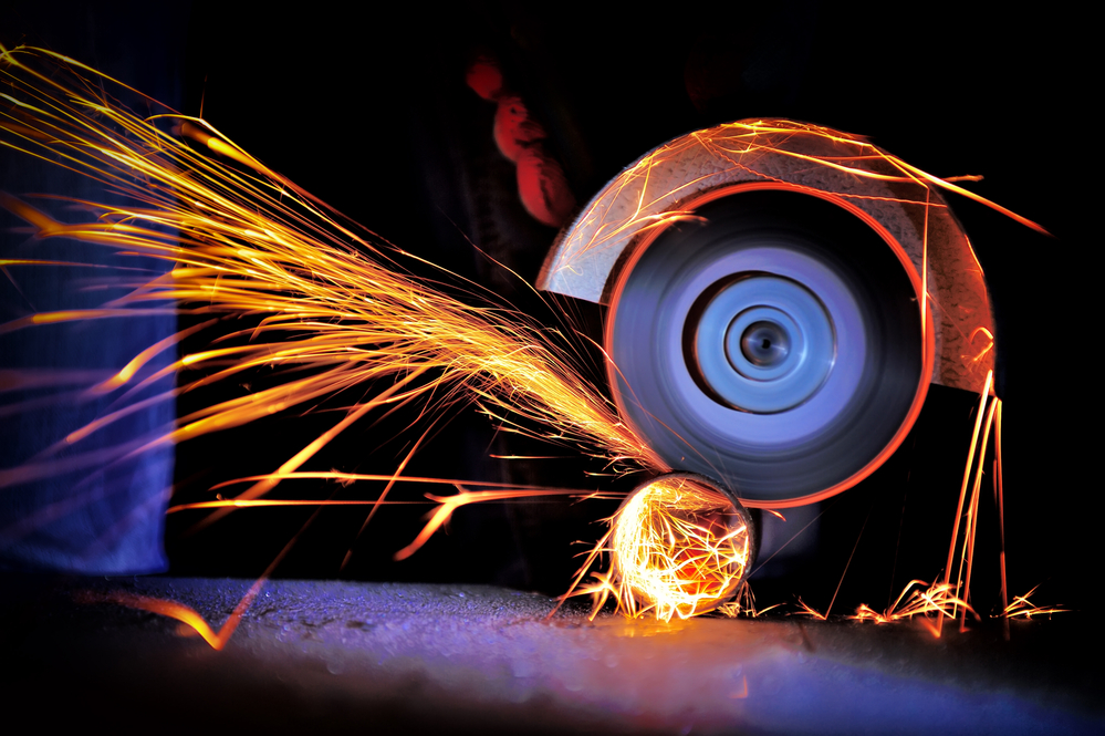 stock photo industrial metal production
