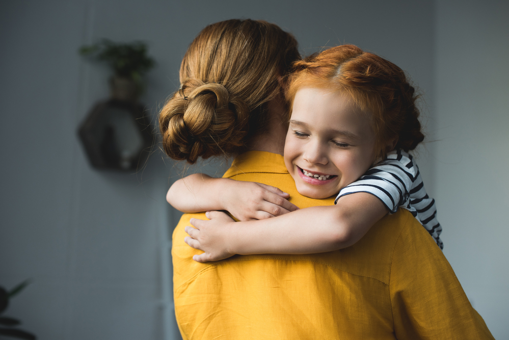 stock photo family mother daughter