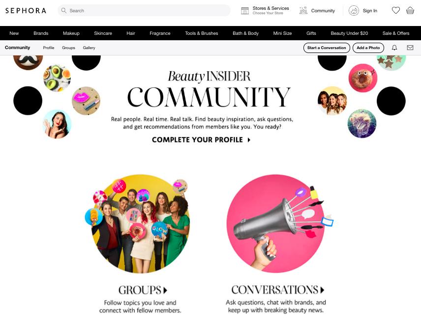 How to Build a Community Around Your Brand Sephora