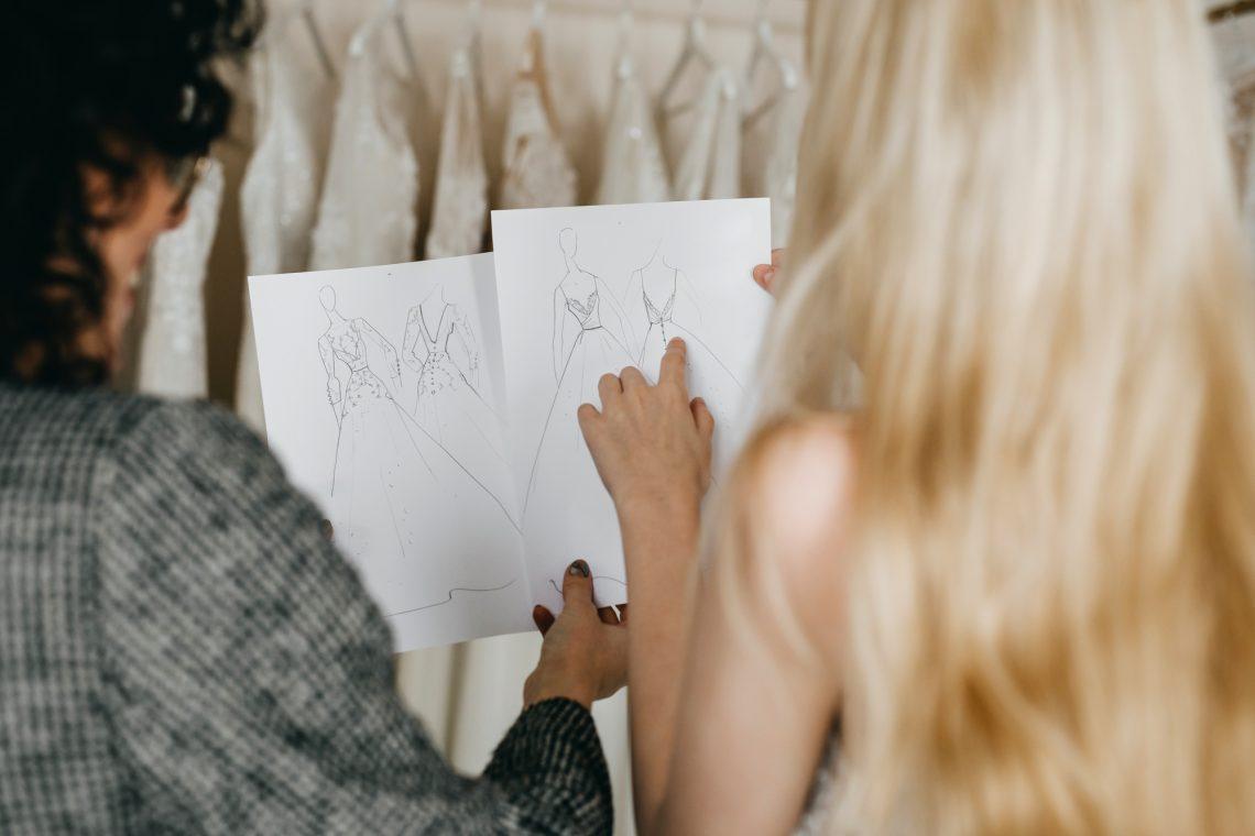 Female designers stock photo